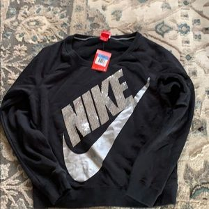 Cute-new with tags, Nike bling sweatshirt